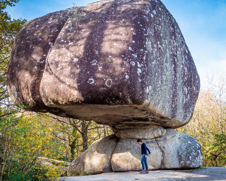 Rocher de la Peyro Clabado dans le Sidobre Tarn